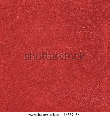 red worn  leather texture