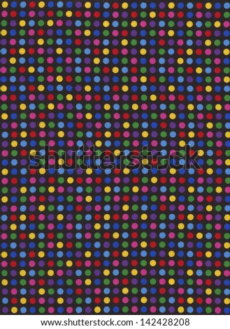 Red yellow and blue plaid textile fabric background. - stock photo