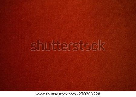 reddish real plush texture with vignette, abstract pattern