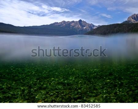 Redfish Lake, Idaho - stock photo