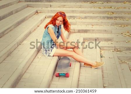 Redhead teen of the day teen