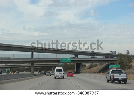 Interstate 10 stock images royalty free images vectors redland california usa october 14 2015 interstate 10 one of sciox Choice Image