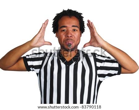 Referee - stock photo