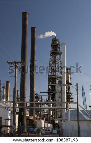Refinery 2 - stock photo