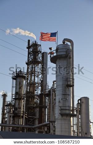 Refinery 3 - stock photo