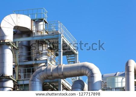 Refinery factory - stock photo