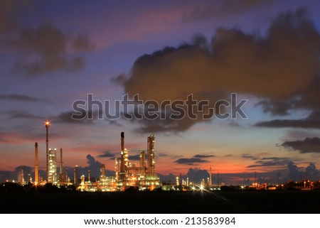 Refinery in Thailand