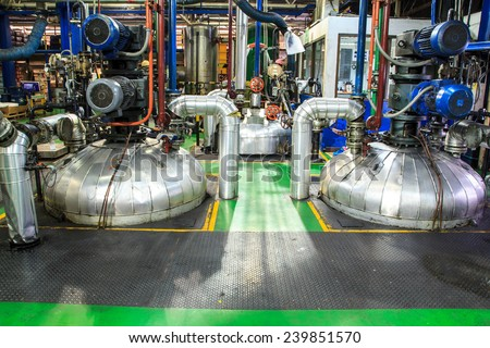 Refinery Industry tank production petroleum and pipeline. - stock photo