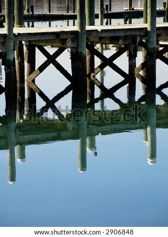 Reflection off the Pier