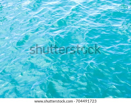 Reflection on the water surface background