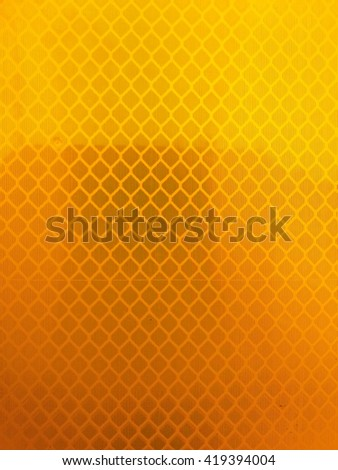 Reflector  yellow  background  texture - stock photo