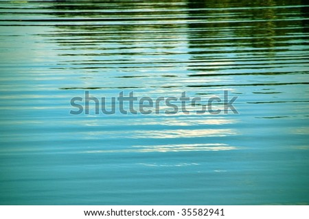 Refllection on water