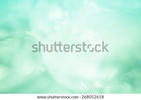 Refreshing cool ice with a soft focus for a background or texture. - stock photo