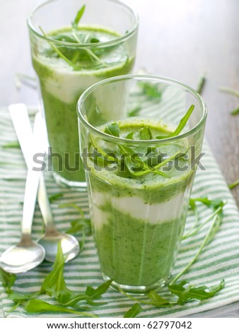 Refreshing, healthy vegetable juice cocktails.