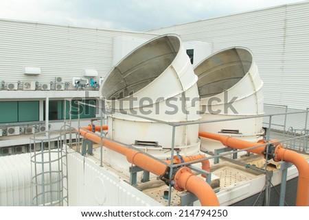 Refrigeration compressors.  - stock photo