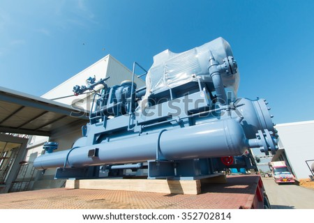 Refrigeration compressors - stock photo
