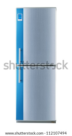 Refrigerator (Clipping path) - stock photo