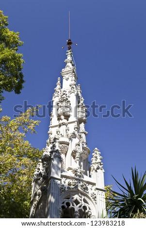 Regaleira Palace  - The Chapel - stock photo