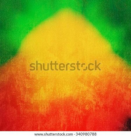 reggae background - stock photo