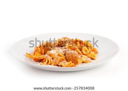 regional recipe typical Italian - stock photo