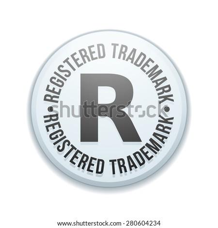 Registered trademark - stock photo