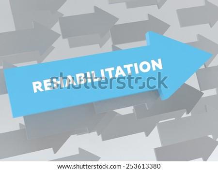 REHABILITATION - stock photo
