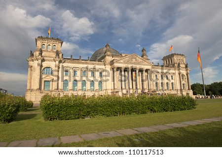 Reichstag building, Berlin Germany