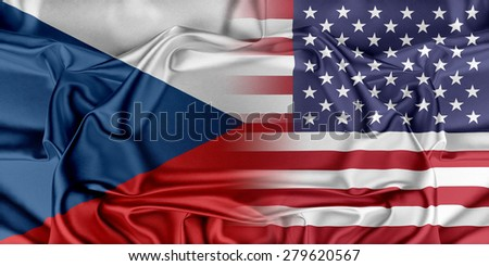 Relations between countries. USA and Czech Republic.