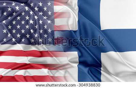 Relations between two countries. USA and Finland