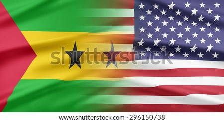 Relations between two countries. USA and Sao Tome and Principe.