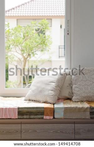 Relax Corner - stock photo