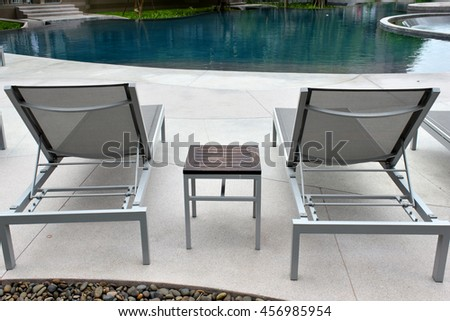 relax pool  chair