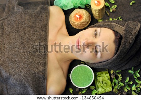 Relaxation at Spa salon