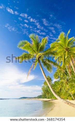 Relaxation In Peace Green Getaway  - stock photo