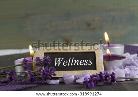 relaxing and wellbeing  - stock photo