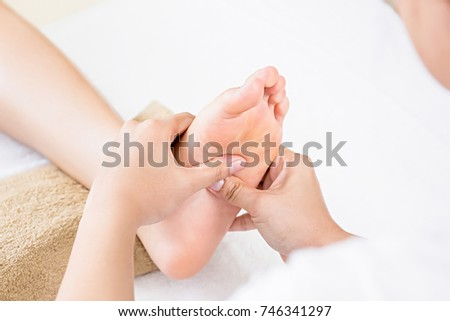 Reflexology stock images royalty free images vectors shutterstock - Salon massage thai naturiste ...