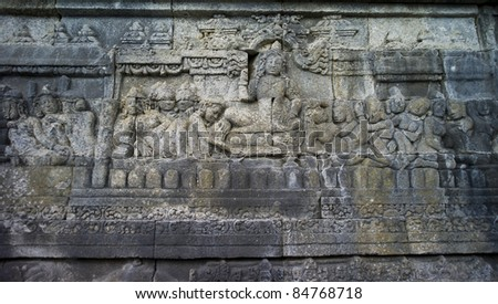 Relief in Borobudur