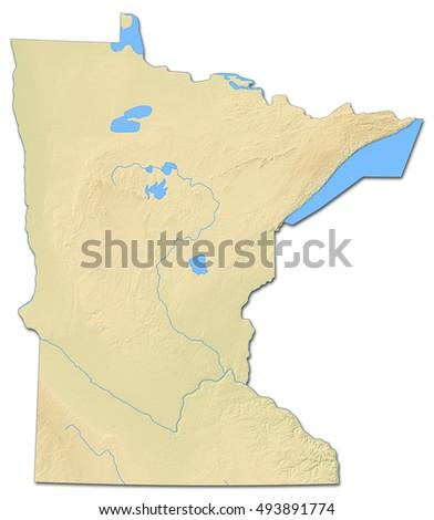 Minnesota Map Stock Images RoyaltyFree Images Vectors - Map minnesota