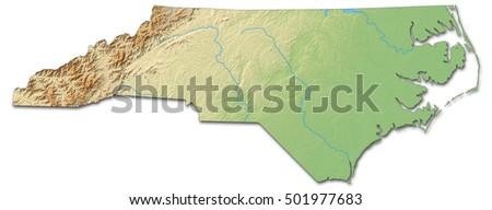 North Carolina Map Stock Images RoyaltyFree Images Vectors - Us map north carolina