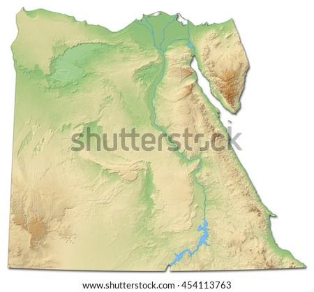 Egypt Map Stock Images RoyaltyFree Images Vectors Shutterstock - Map of egypt 3d