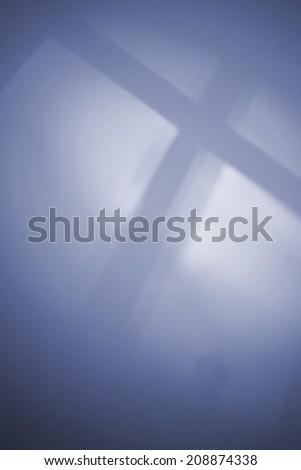 religious cross background - stock photo