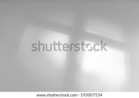 religious cross - condolences card background - stock photo
