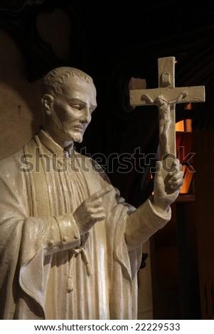 Religious statue - stock photo
