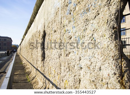 Remains of the Berlin Wall, Germany