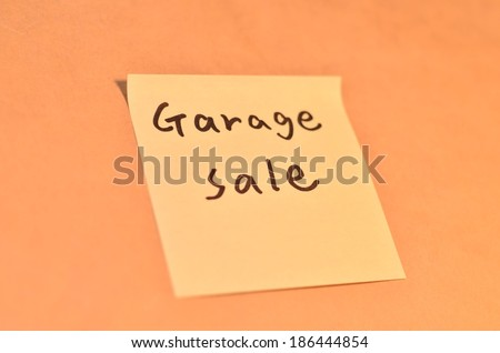 Reminder letters for the office on the note pad grunge background - stock photo