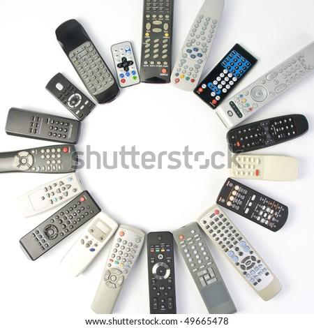 Remote controlers - stock photo