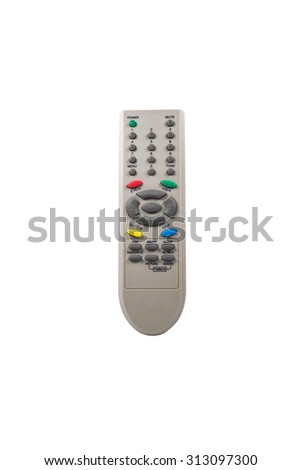 Remote controller isolated on a white background