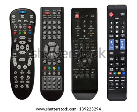 Remote controls - stock photo