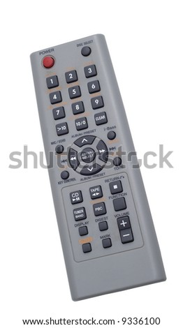remote isolated on white background - stock photo