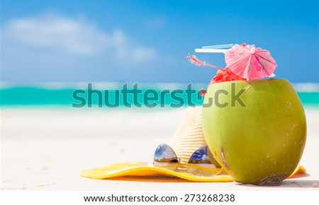 remote tropical beaches and countries. travel concept - stock photo